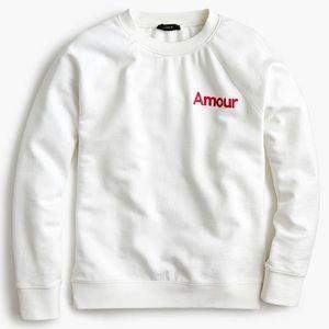 NWT J. Crew Amour Sweatshirt